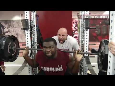 South Carolina Football Winter Workout Highlights - 2013
