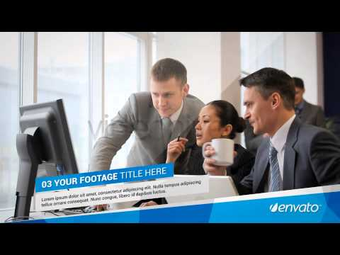 Corporate Slideshow FLV-After Effects Project Files