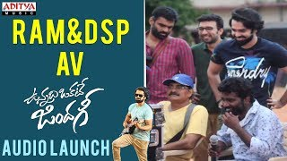 Ram, DSP Special AV || Vunnadhi Okate Zindagi Audio Launch | Ram, Anupama, Lavanya, DSP - ADITYAMUSIC