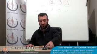 Tahavi Akidesi-Akaid Dersleri 06: Allah'ın Varlığının ve Birliğinin Aklî Delillerle İspatlanması; Ateistlere Cevaplar