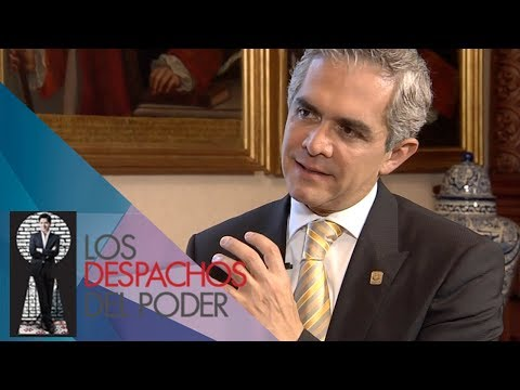 Los despachos del Poder - Miguel Ángel Mancera