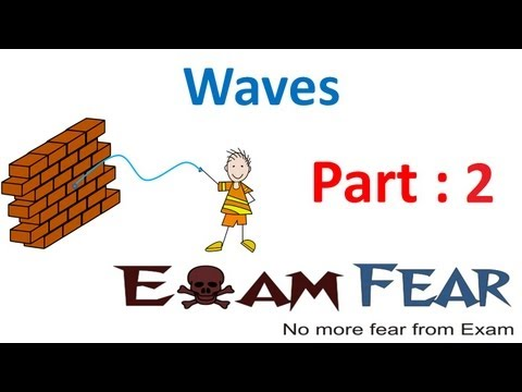 Physics Waves part 2 (Types of Waves) CBSE class 11