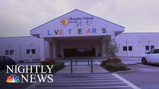 Florida School Hires Armed Combat Veterans To Patrol School | NBC Nightly News - NBCNEWS