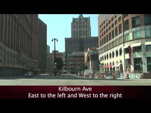 Downtown Streets: Milwaukee, WI