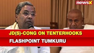 Lok Sabha Elections 2019, Karnataka: JD(S)-Congress on Tenterhooks, Flashpoint Tumkuru Constituency - NEWSXLIVE
