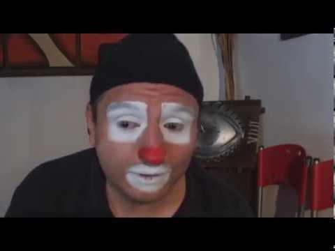 tutorial de maquillaje de payasos profecional escuadron payasos