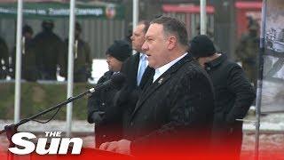 Pompeo ramps up Russian threat rhetoric (Orzysz, Poland) - THESUNNEWSPAPER