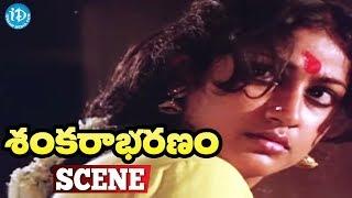 Sankarabharanam Movie Scenes - Tulasi Kills Zamindar || J.V. Somayajulu - IDREAMMOVIES