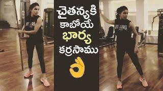 Samantha Practicing Stick Fighting | Samantha Unseen Shocking Video | TFPC - TFPC