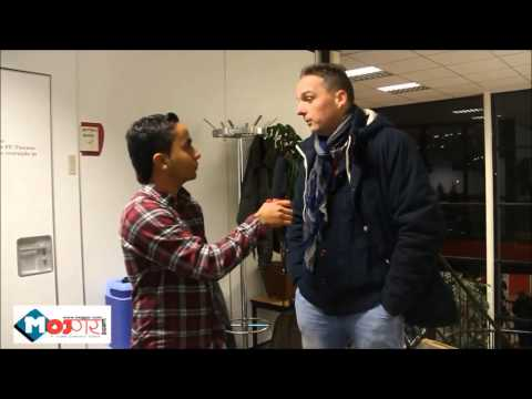 Dutch coach talking about Nepali player Bimal Gharti Magar