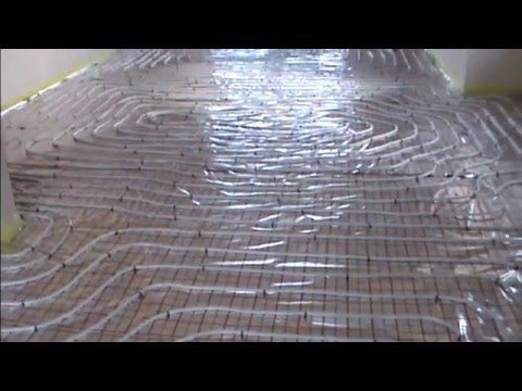 Ogrzewanie podłogowe - instalacja - podłogówka