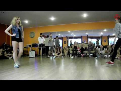 Dancehall Camp Jam 2013 - 1/4 Dancehall 1vs1 - Dagmara So So Jammin vs Aga Rakoczy