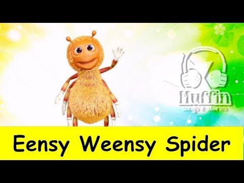 Muffin Songs – Eensy Weensy Spider Tekerlemeler ve İngilizce Çocuk Şarkıları
