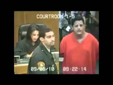Crazy Guy Threatens To Kill The Judge If She Doesn't Release Him On Attempted Murder Charges