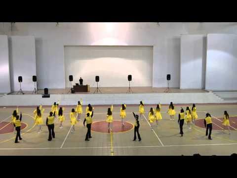 Tablas Rítmicas Colegio Margil XXV Semana del estudiante Paulina
