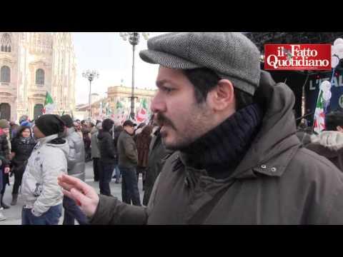 Milano, tre <b>vecchietti cacciano</b> militante <b>5 stelle</b> dalla piazza di <b>&#8230;</b>