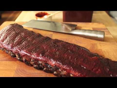 Baby Back Ribs Recipe - Baked BBQ Baby Back Ribs - Winter Barbecue Ribs