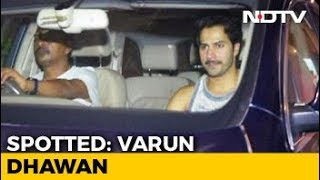 Celeb Spotting: Varun, Shraddha & Others - NDTV