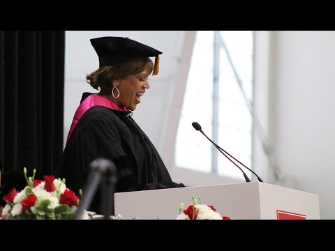 Liz Walker: School of Public Health Convocation Speaker 2017