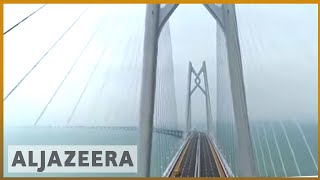 🇨🇳 China opens world's largest sea bridge to territories | Al Jazeera English - ALJAZEERAENGLISH