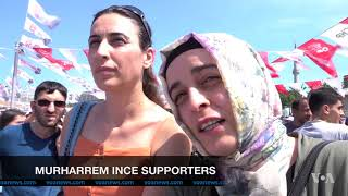 Challenger Takes Campaign to Erdogan's Backyard in Bid to Win Religious Voters - VOAVIDEO