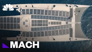 This Ship's Six-Year Journey Is To Prove Zero-Emission Ocean Travel Is Possible | Mach | NBC News - NBCNEWS