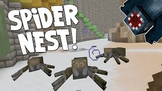 watch the youtube video Minecraft Xbox - The Forgotten Vale - Spider Nest! [8]