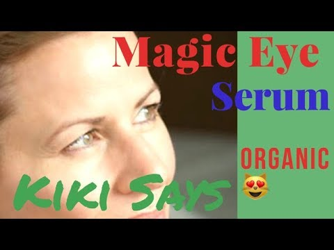 #Eye #Serum - #Reduce #Puffy, #Tired #Eyes & Renew Cels - Natural Tutorial