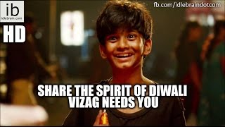 Share the Spirit of DIWALI   Vizag Needs YOU - idlebrain.com - IDLEBRAINLIVE