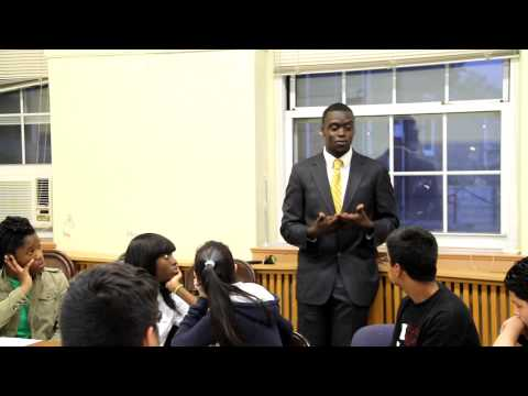 Ronald James Terry- Taylor Addresses Hempstead Youth Advisory Council