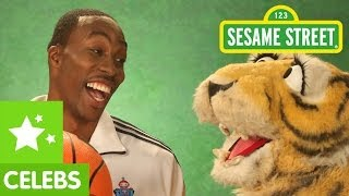 Dwight Howard On Sesame Street With Elmo Teaching Word Of The Day