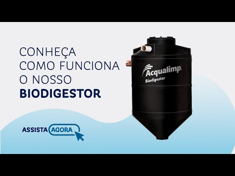 Funcionamento do Biodigestor Acqualimp