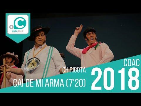 Sesión de Cuartos de final, la agrupación Cai de miarma (7,20) actúa hoy en la modalidad de Chirigotas.