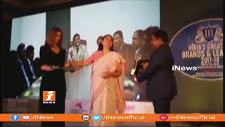 Shatabdi Township MD Srinivas Reddy Receives Global Indian Of The Year Award in Mumbai | iNews - INEWS