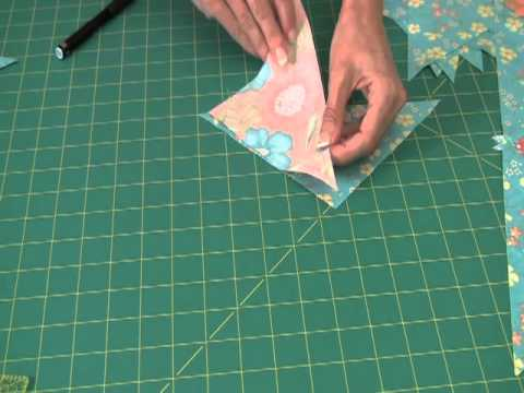 Fons &amp; Porter: Sew Easy, Piecing Quarter Square Triangle Borders