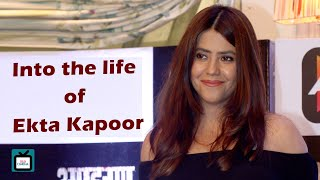 Ekta Kapoor shows her quirky side | Exclusive | Tellychakkar | - TELLYCHAKKAR