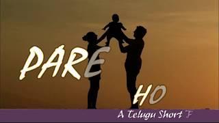 PARENT'S HOPE    A Telugu ShortFilm - YOUTUBE