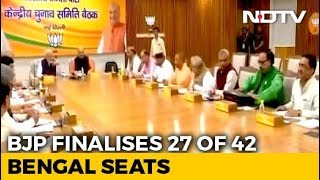 BJP Finalises Candidates for 27 Of The 42 Seats In West Bengal: Sources - NDTV