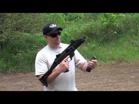 At the Range with the CZ Scorpion Evo 3 A1 Submachine Gun