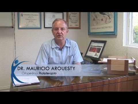 Proloterapia para Dolor de Rodilla Dr. Mauricio Arouesty