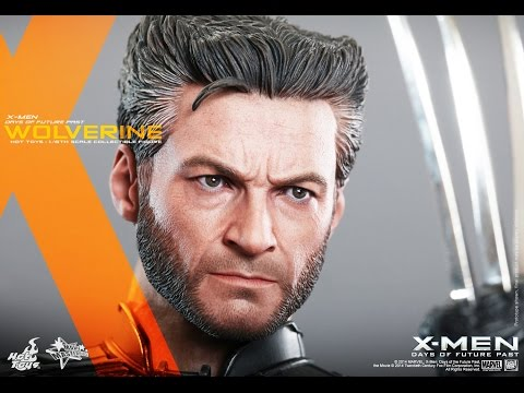 Hot Toys Wolverine Days of Future Past Movie Action Figure Photos Revealed