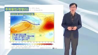 20170109_날씨해설 _ 추위 원인과 전망