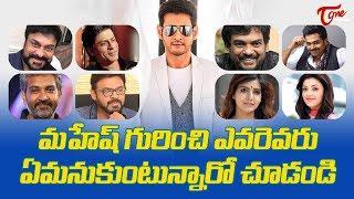 Celebrities About Mahesh Babu Spyder #FilmGossips - TELUGUONE