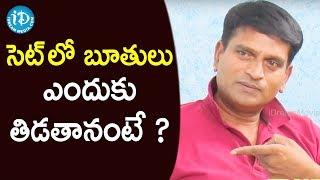 సెట్ లో బూతులు ఎందుకు తిడతానంటే ? - Actor Ravi Babu || Frankly With TNR || Talking Movies - IDREAMMOVIES