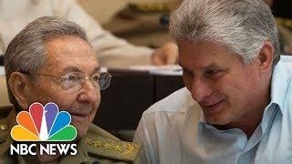 Watch As Cuba Confirms Their New President | NBC News - NBCNEWS