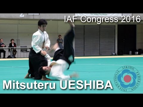 Demonstration by Mitsuteru Ueshiba - 12th IAF Congress in Takasaki
