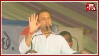"""""""Why Modi Ji is Silent on Corruption; Why He Does not Talks About Amit Shah's Son"""" - Rahul Gandhi - AAJTAKTV"""