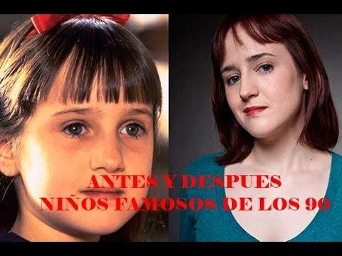 Antes y despues niños famosos de los 90 │ Before and after famous kids