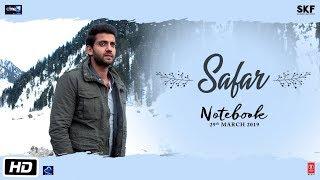 Notebook: Safar Video | Zaheer Iqbal & Pranutan Bahl | Mohit Chauhan | Vishal Mishra - TSERIES