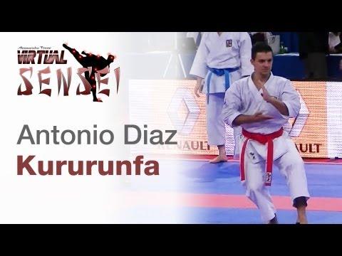 Antonio Diaz - Kata Kururunfa - WKF World Karate Championships Paris Bercy 2012